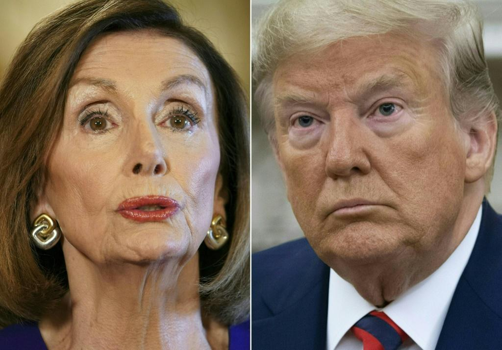US Speaker of the House Nancy Pelosi was pressuring Trump's cabinet to remove the president from office