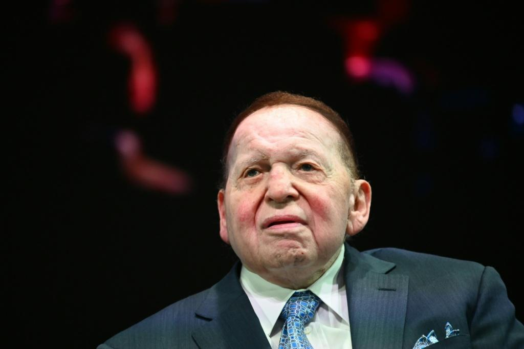 Sheldon Adelson, who died at 87, was a supporter of Republican causes, including outgoing US President Donald Trump