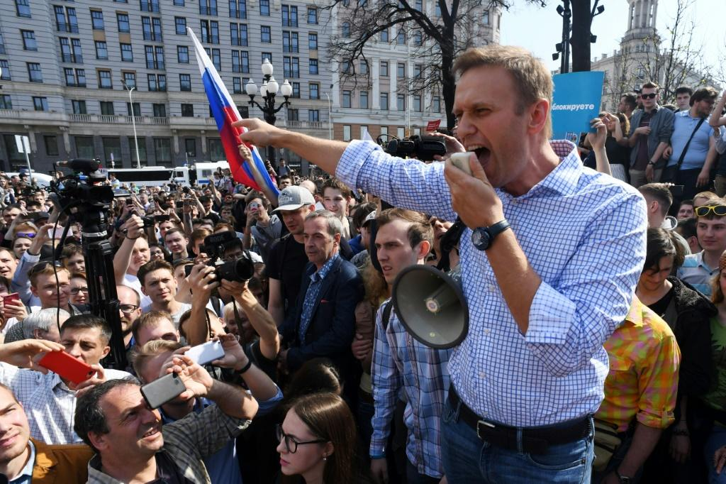 For around a decade, Navalny has been the symbol of Russia's protest movement, after rising to prominence as an anti-corruption blogger and leading anti-government street rallies