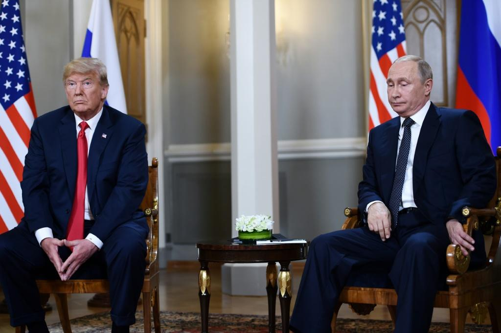 President Donald Trump had a controversial relationship with Russia's Vladimir Putin