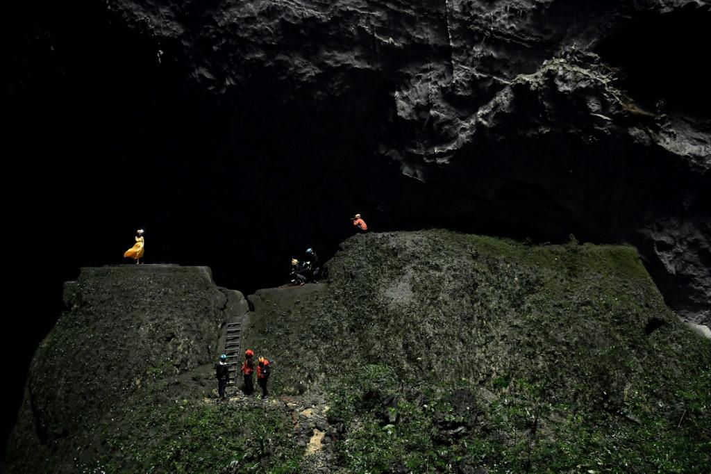 The high-end tourism model of the caves provides around 500 jobs for the local community