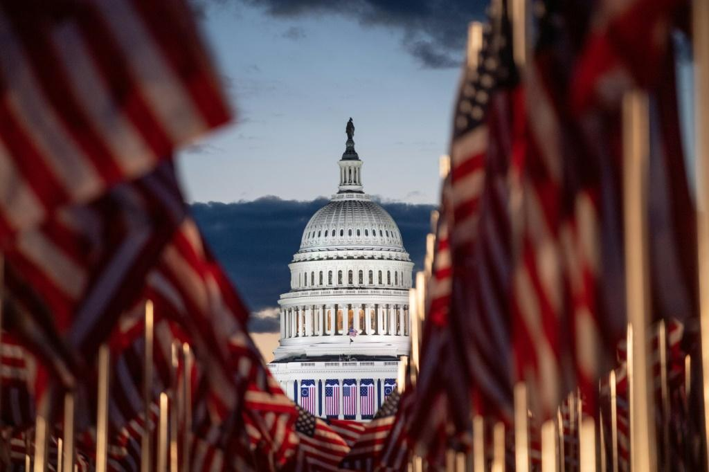 Preparations for the inauguration of US President-elect Joe Biden on January 20, 2021