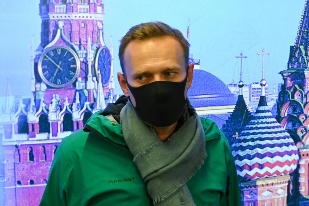 Russian opposition leader Alexei Navalny was detained shortly after his return to Moscow