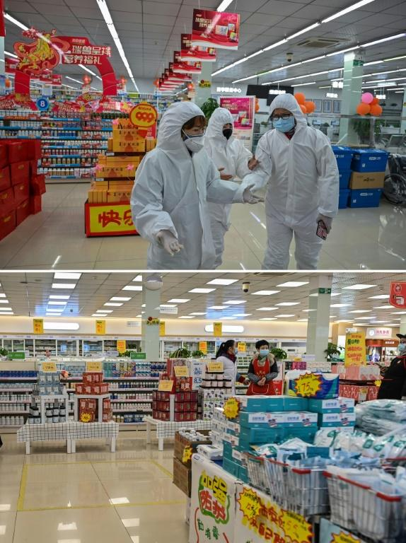 Then and now: Previously overwhelmed pharmacies and hospitals are currently empty of Covid-19 patients