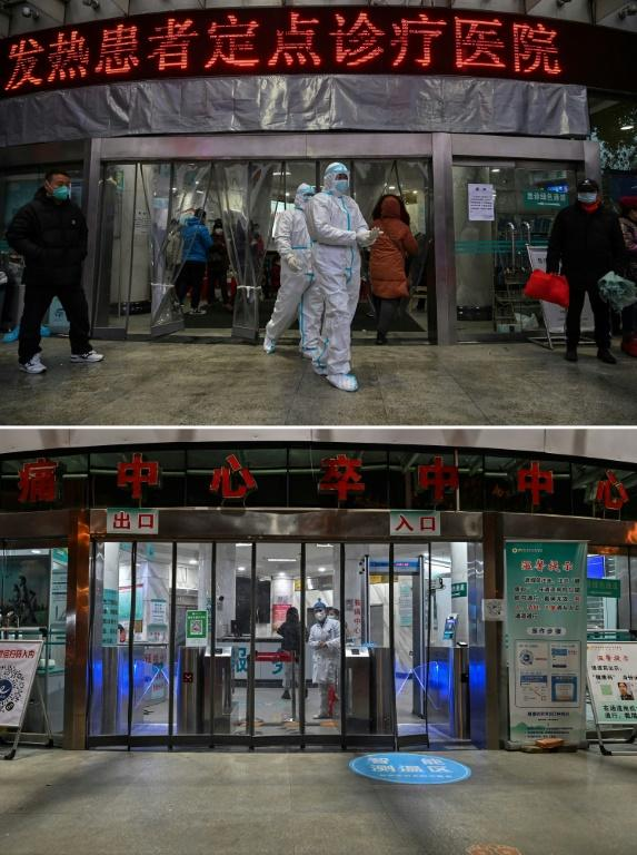 Then and now: Wuhan is eager to move on from being known as the ground zero of the deadly virus
