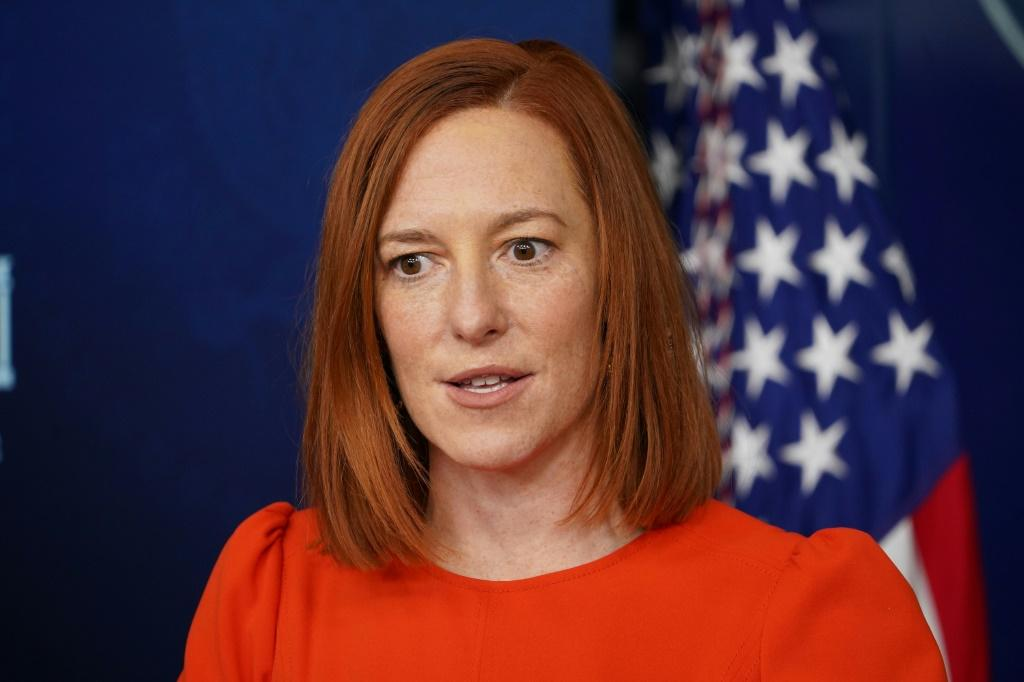 White House press secretary Jen Psaki announces the intention to seek a five-year extension of the New START nuclear treaty with Russia