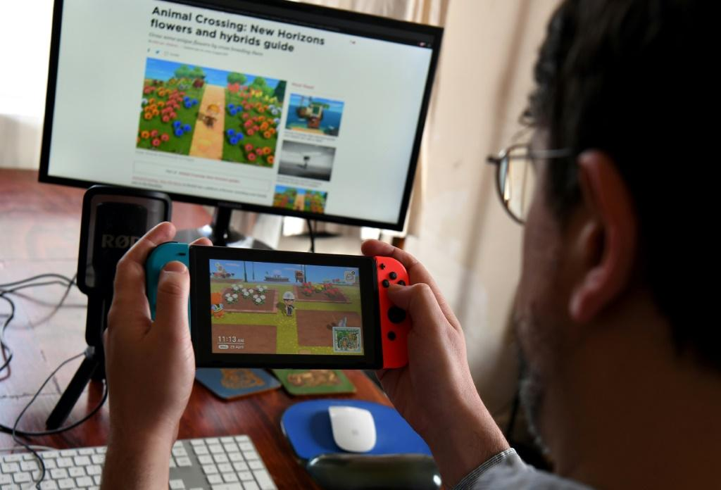 Playing Nintendo's Animal Crossing was a lockdown diversion for many people last year