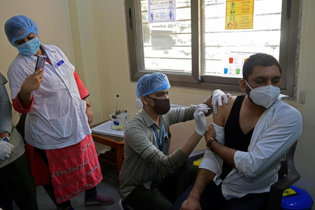 India is only vaccinating around two-thirds as many people as hoped as its scheme gets under way