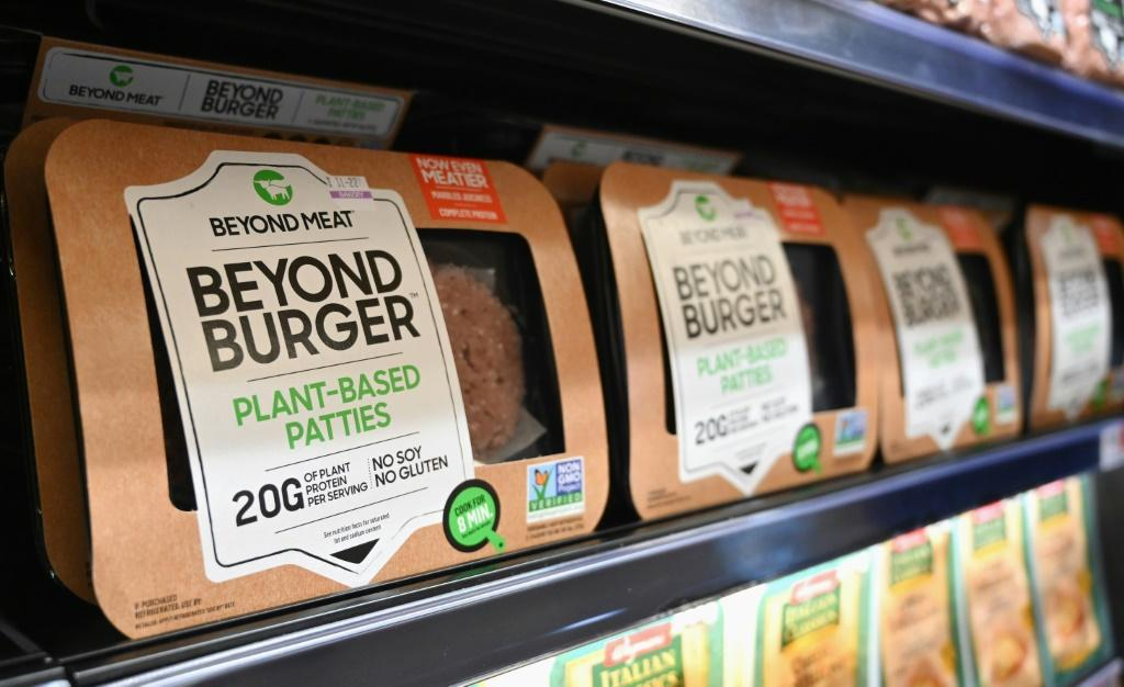 Meat-free burgers are considered better for the planet as they use fewer natural resources than raising livestock