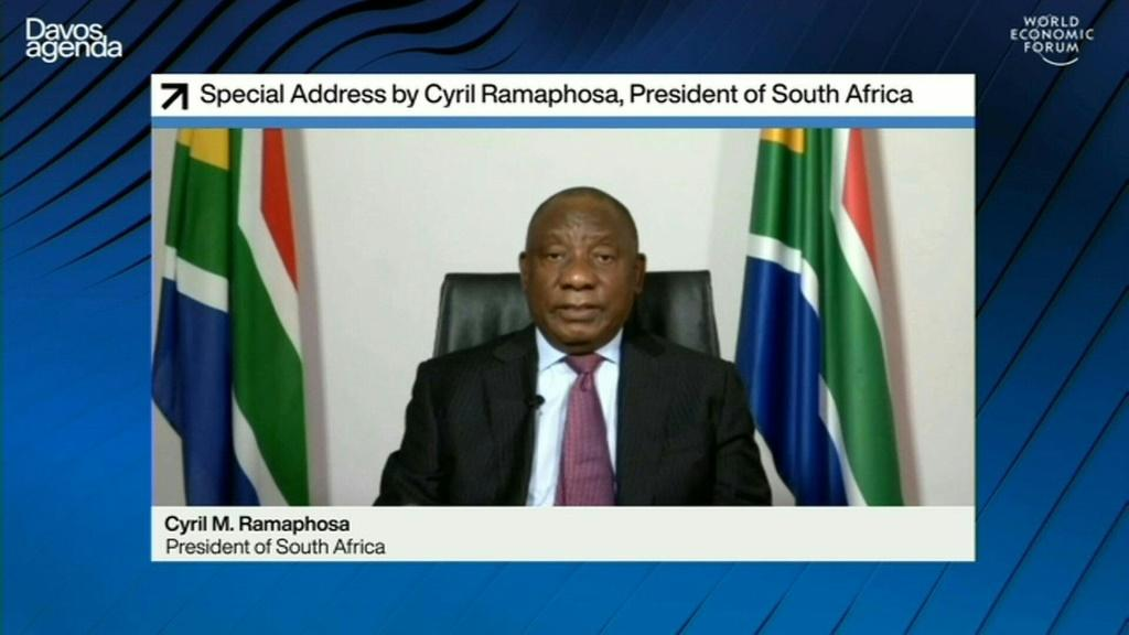 South African President Cyril Ramaphosa expressed concern over the rise in 'vaccine nationalism', which he says has led to some rich countries acquiring four times as many doses as they actually need for their population.
