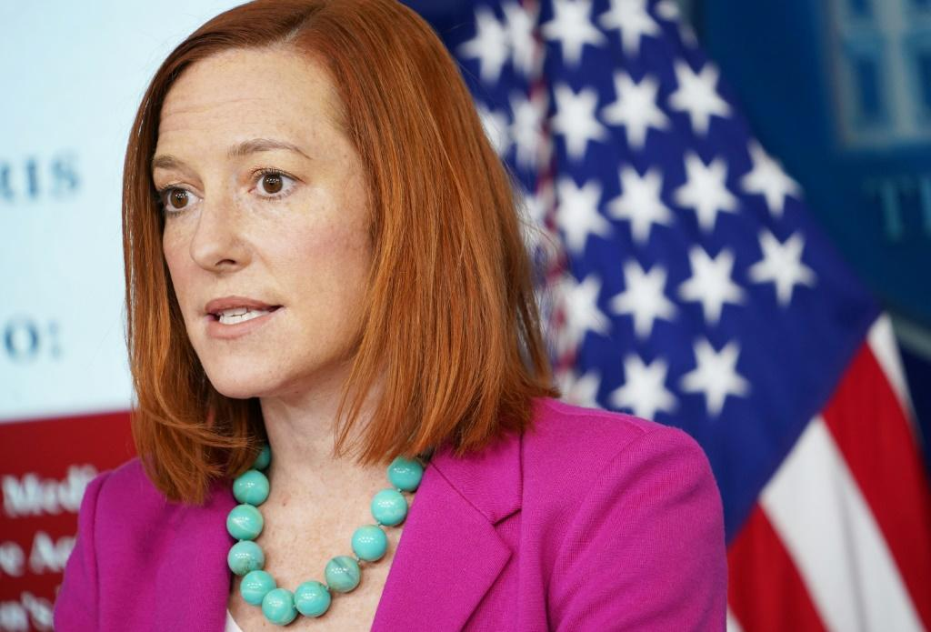 White House Press Secretary Jen Psaki said the US was 'outraged' at the decision by a Pakistani court to free the man convicted of masterminding Daniel Pearl's murder
