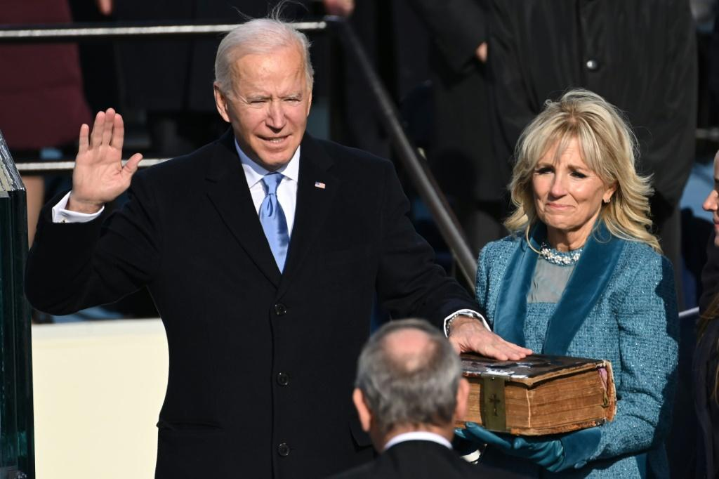 US first lady Jill Biden had visited a migrant camp in Mexico, near the border with Texas, in December 2020