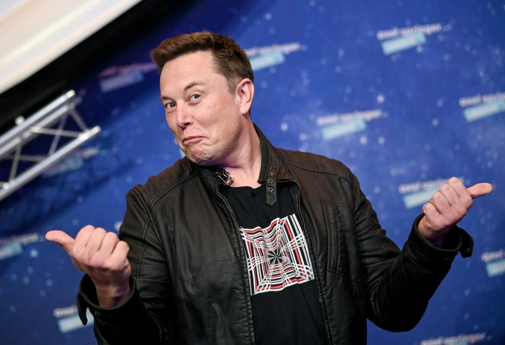"""Tesla and SpaceX founder Elon Musk (pictured December 2020) has cultivated an """"outlaw, outsider persona"""
