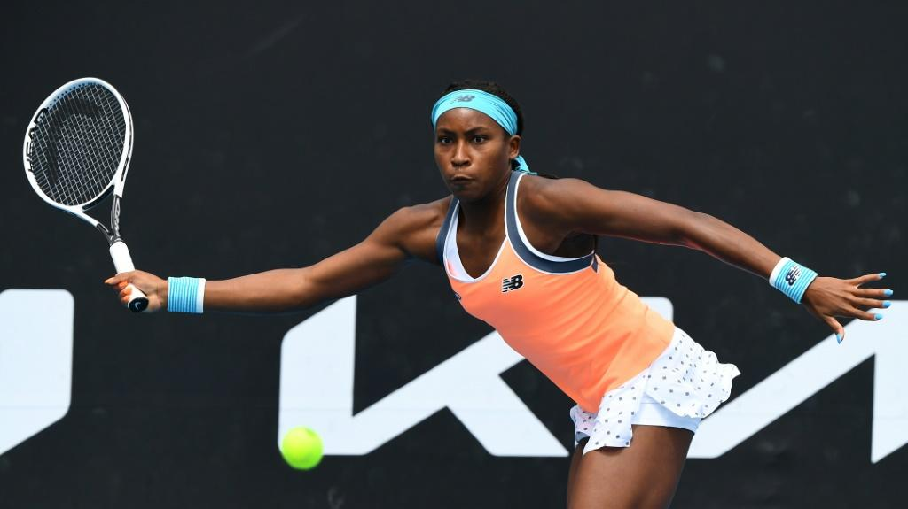 Coco Gauff went out to Britain's Katie Boulter in three sets