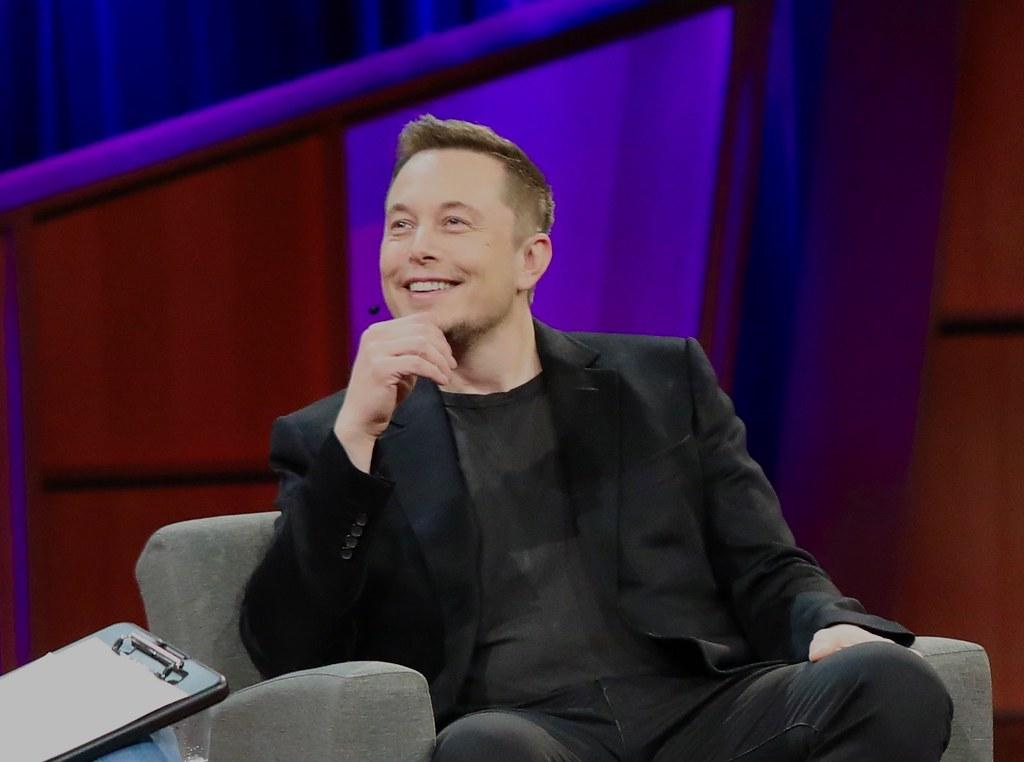 Elon Musk, one of the world's richest men and Tesla CEO