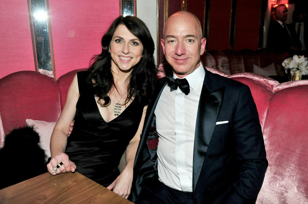 Jeff Bezos divorced after 25 years of marriage to MacKenzie Scott, who launched a vast philanthropic initiative with her money from the divorce settlement