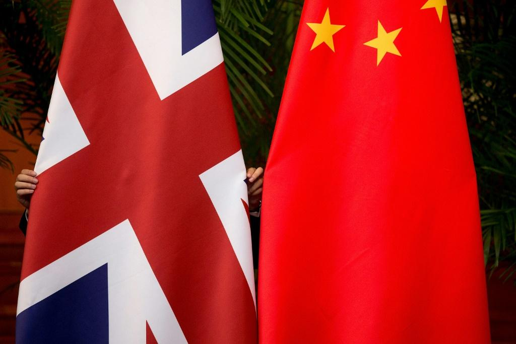UK-China relations have become increasingly strained as Britain has criticised Beijing over its crackdown in Hong Kong and Xinjiang