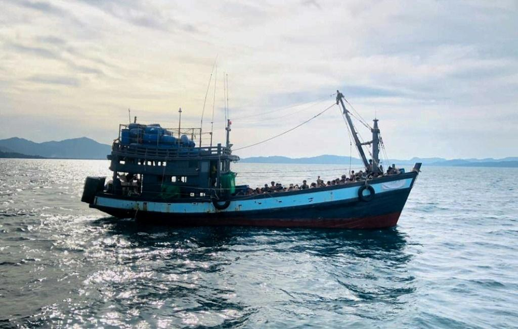 Many Rohingya refugees in Indonesia enlist traffickers to help them cross the sea to neighbouring Malaysia