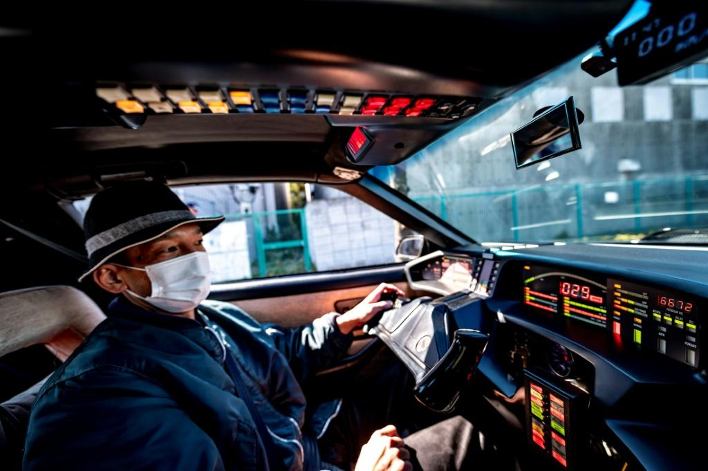 Masamune Isogani gets a thrill every time he drives his Knight Rider replica