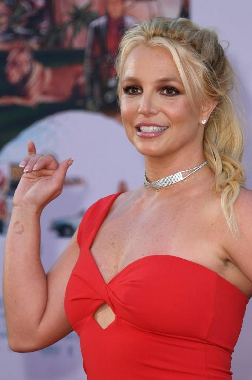 """Britney Spears, shown here at the premiere of """"Once Upon a Time... in Hollywood"""" in July 2019"""