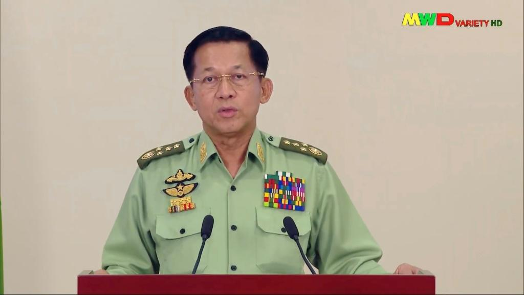 """Myanmar military chief General Min Aung Hlaing declared that this time, things would be """"different"""" from the army's previous 49-year reign, which ended in 2011"""
