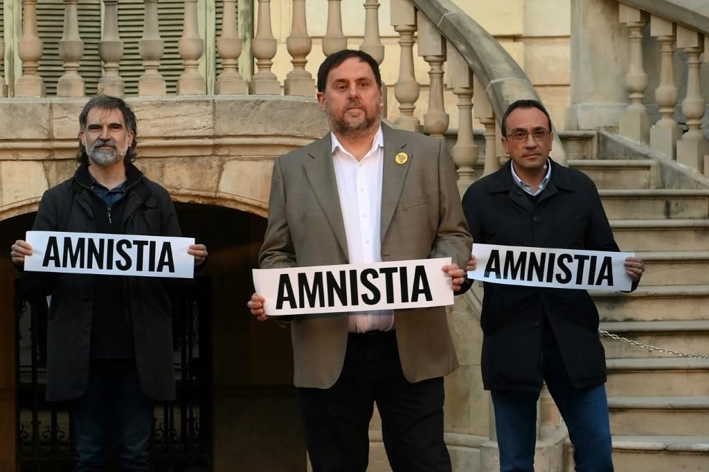 Some separatist leaders jailed for their part in the 2017 push for independence were given a temporary release to campaign for next Sunday's elections