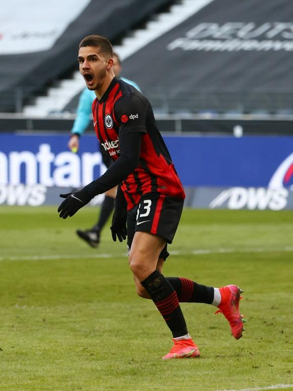 Andre Silva's tally of 18 goals this season for Eintracht Frankfurt has only been bettered in the Bundesliga by Robert Lewandowski