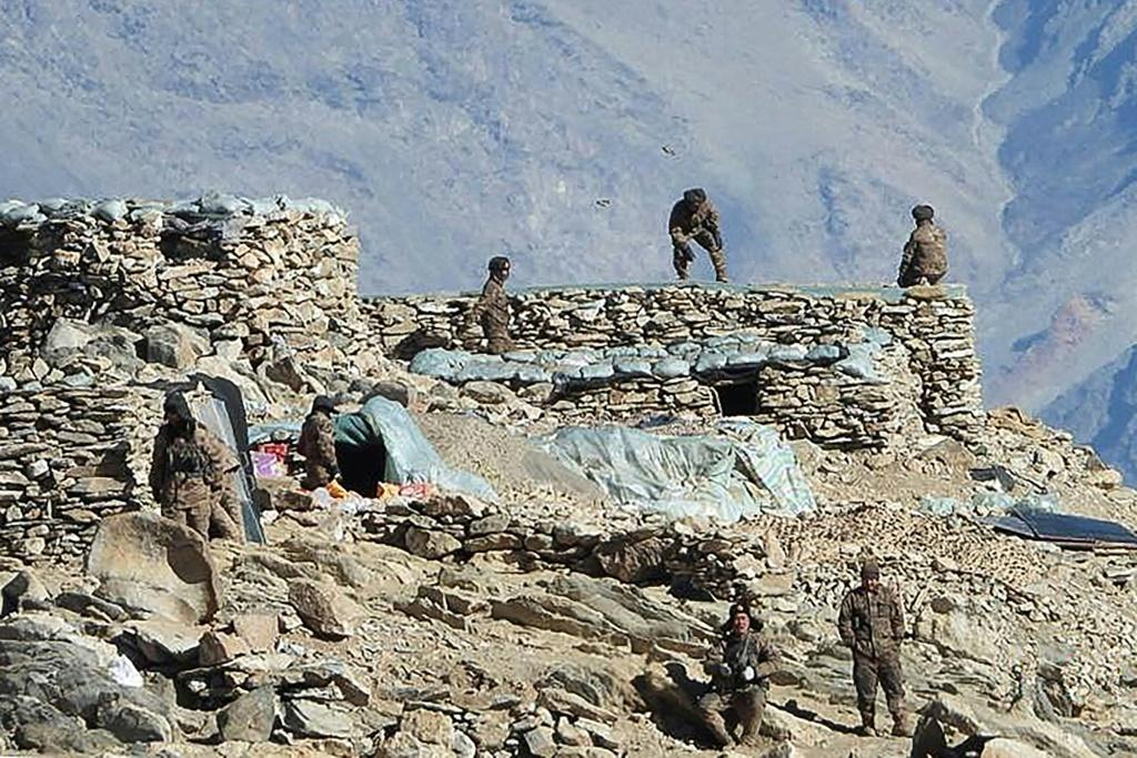 India and China fought a border war in 1962 and have long accused each other of seeking to cross their frontier in India's Ladakh region, just opposite Tibet