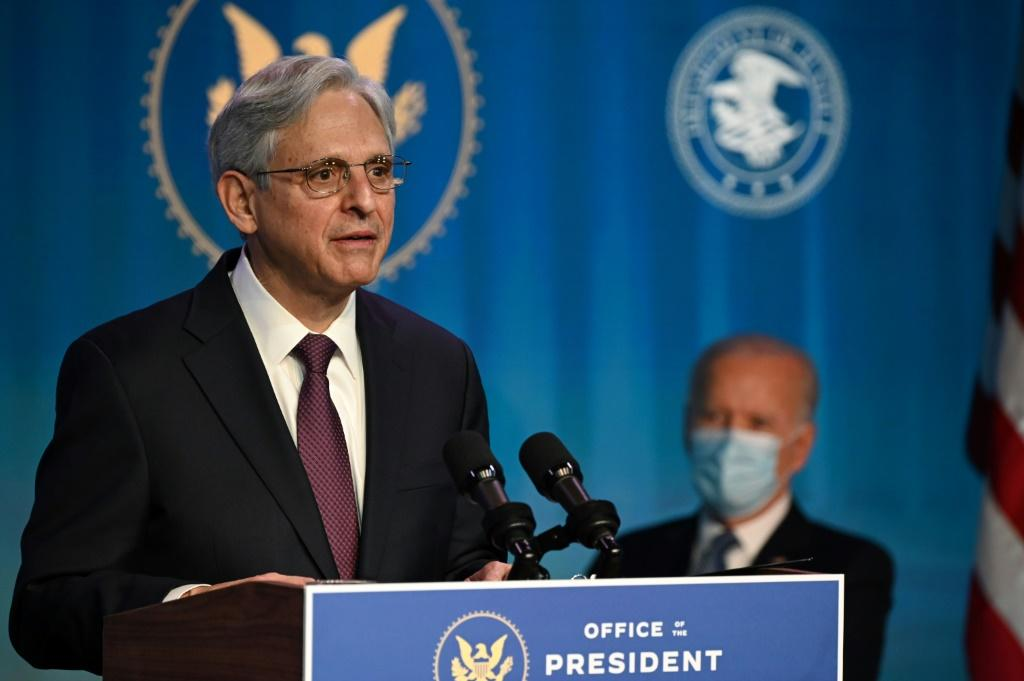 Federal appeals court judge Merrick Garland was nominated by US President Joe Biden to be attorney general