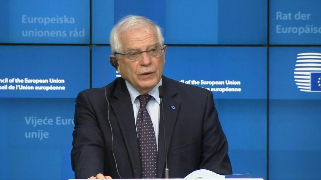 """EU foreign chief Josep Borrell says that EU ministers have decided on """"a set of targeted measures"""" against Myanmar's military rulers over this month's coup."""