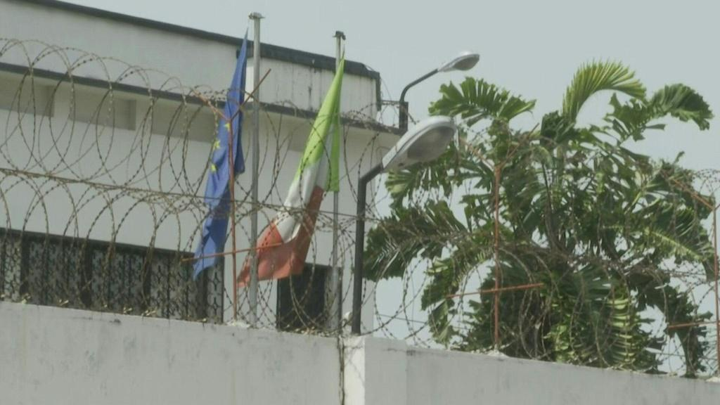IMAGESImages of the Italian embassy in Kinshasa after Italy's ambassador to the Democratic Republic of Congo was killed when a UN convoy came under attack in the country's troubled east.