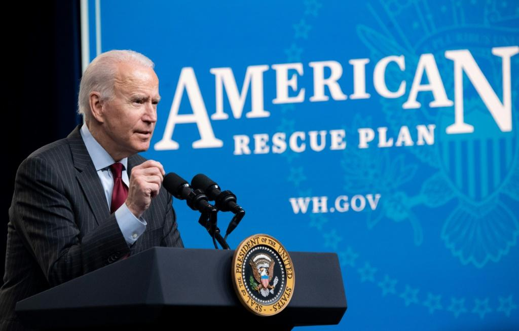 US President Joe Biden announces changes to the Paycheck Protection Program (PPP) for small businesses