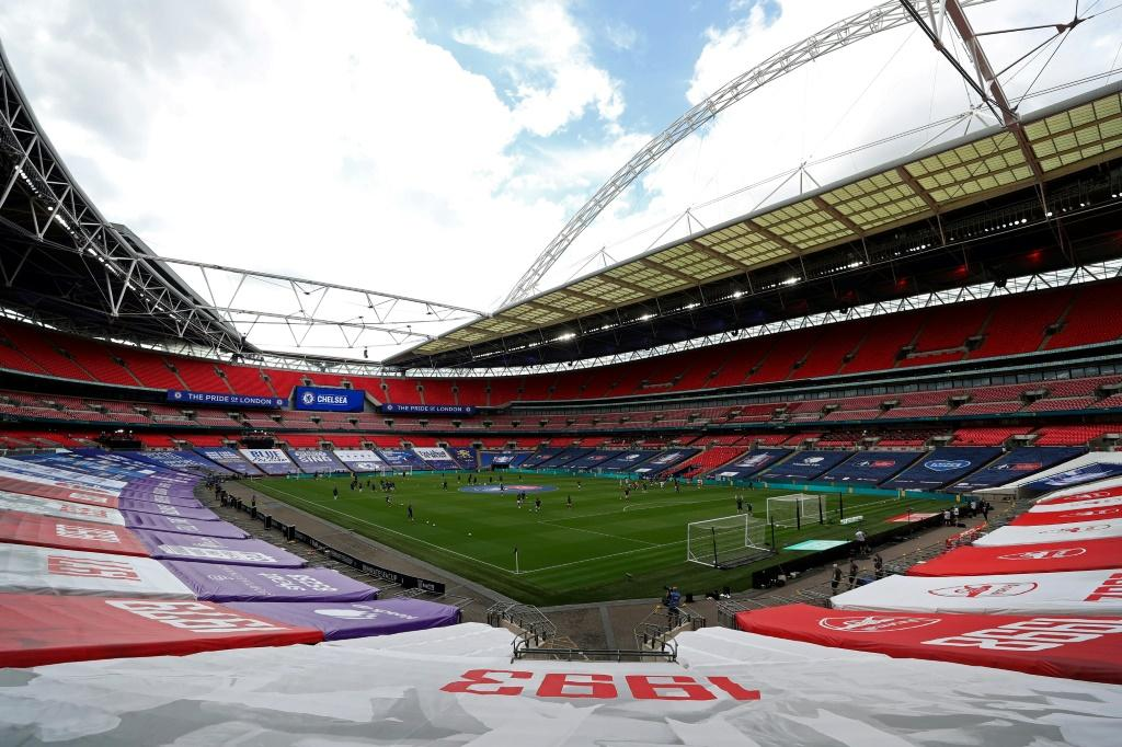 Wembley stadium is due to play host to the Euro 2020 semi-finals and final