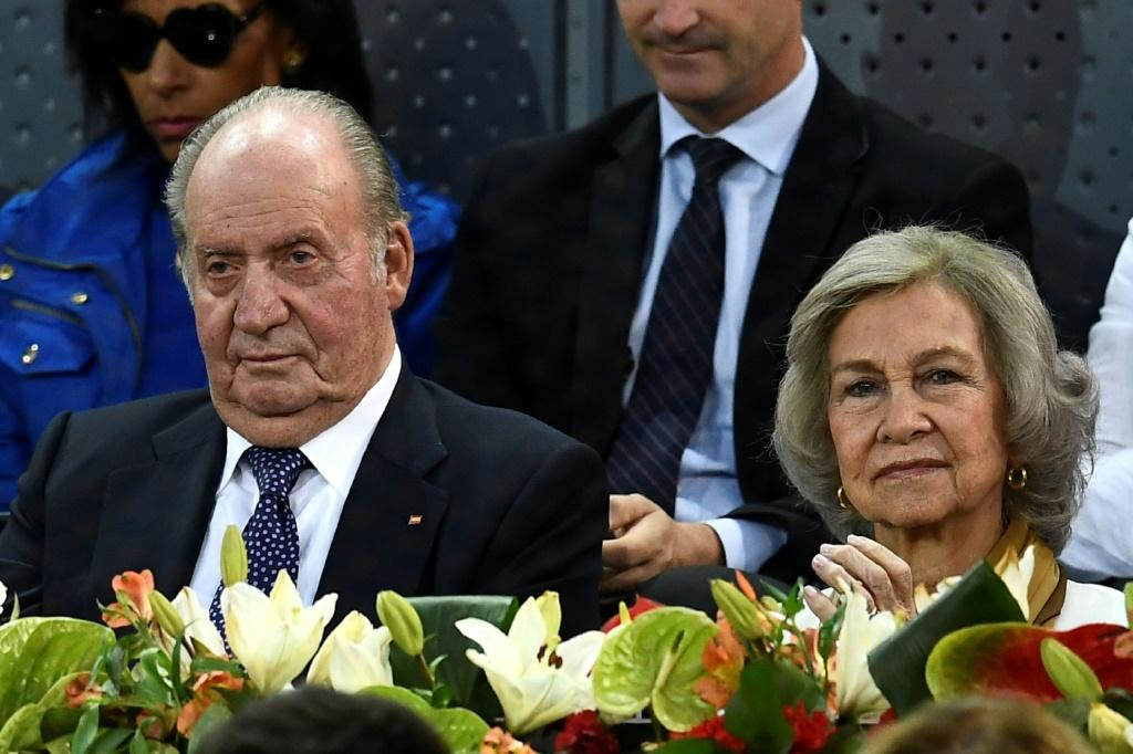 Juan Carlos (left) abdicated in 2014 and went into self-imposed exile last year due to growing questions over the origin of his fortune