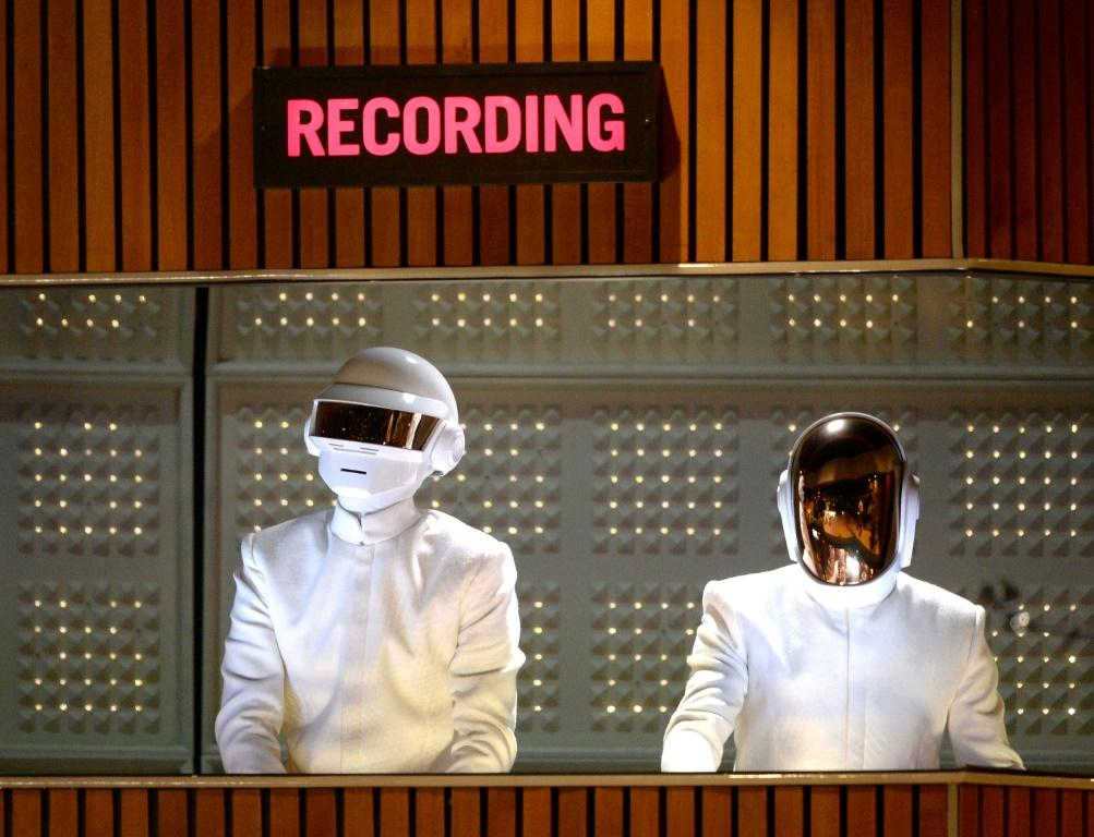 There is speculation Thomas Bangalter (left) and Guy-Manuel de Homem-Christo of Daft Punk will pursue solo music projects