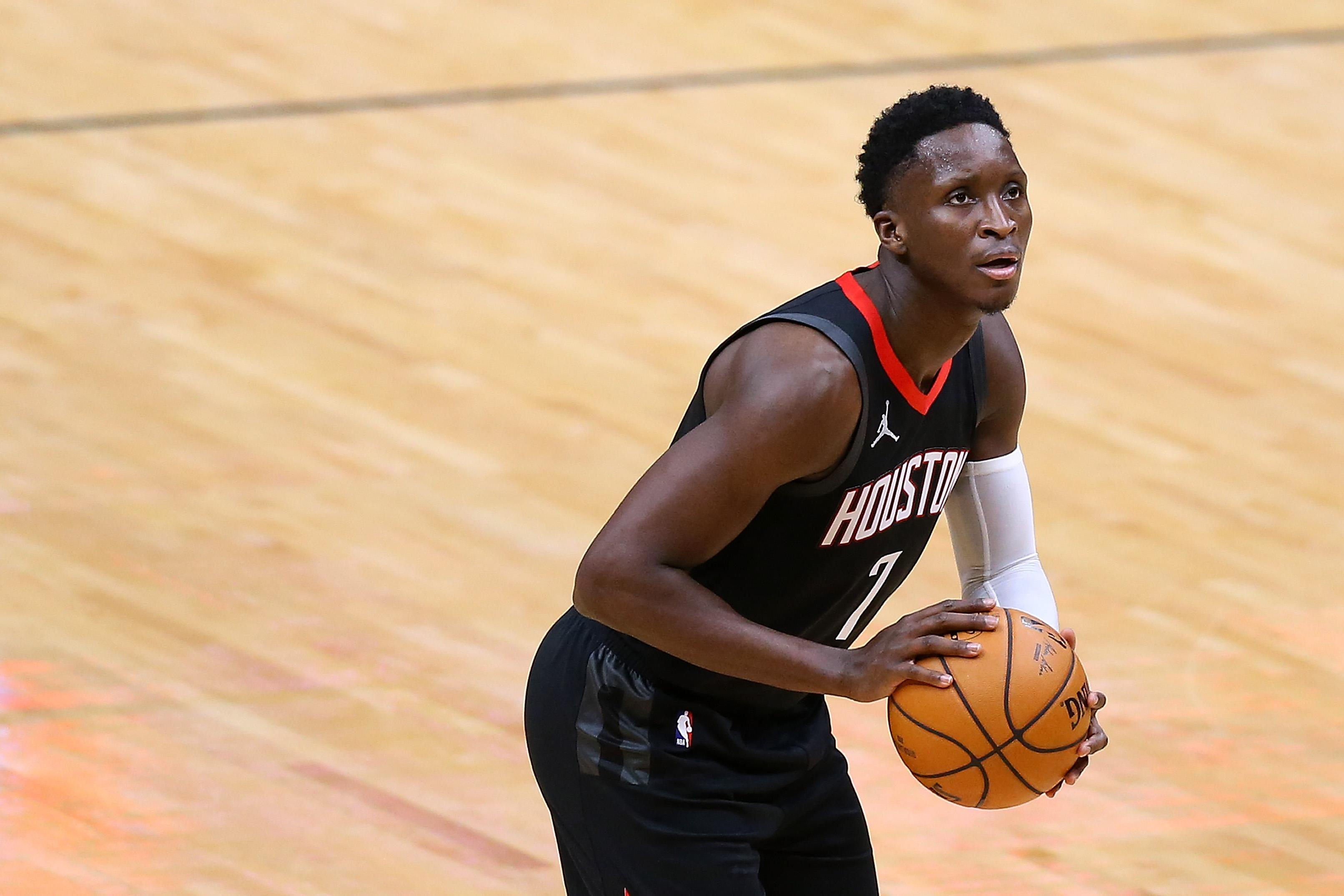 Victor Oladipo #7 of the Houston Rockets