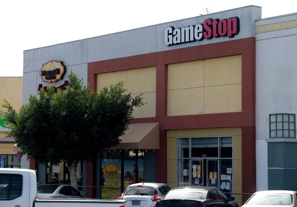 GameStop shares are buzzing anew on Wall Street