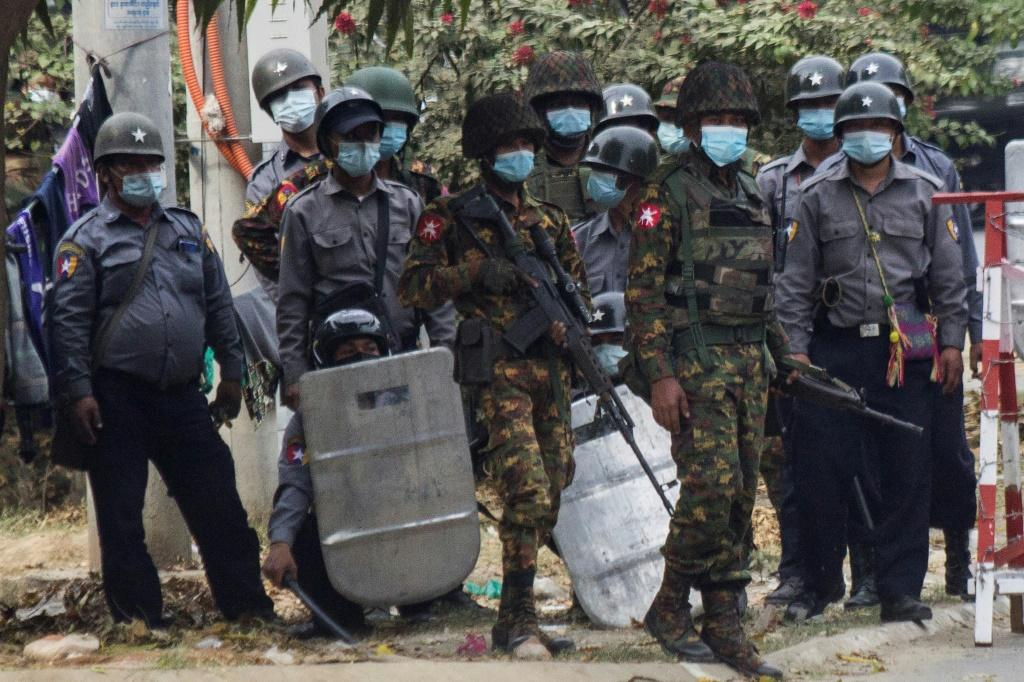 Security forces have steadily increased the use of force against a massive and largely peaceful civil disobedience campaign demanding Myanmar's junta relinquish power