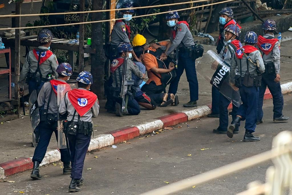 More than 850 people have been arrested, charged or sentenced since the coup, according to the Assistance Association for Political Prisoners