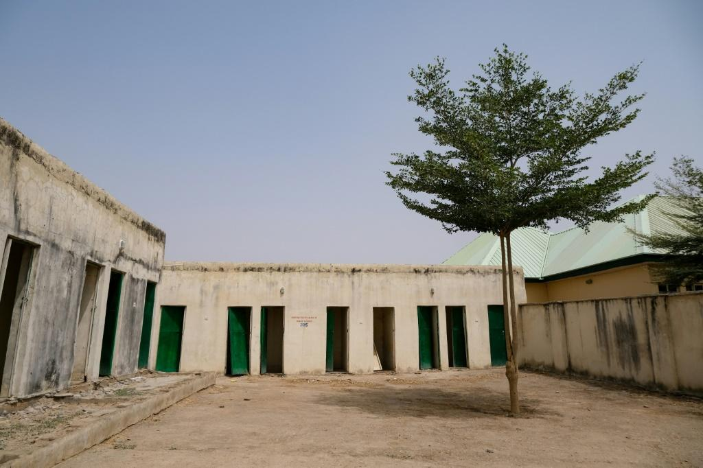 The school compound now lies virtually deserted