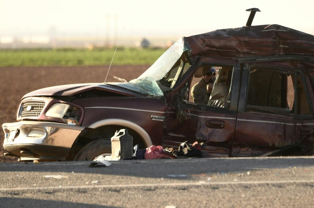 A total of 25 occupants -- including a driver who was later among the dead -- were traveling in the SUV at the time of the crash
