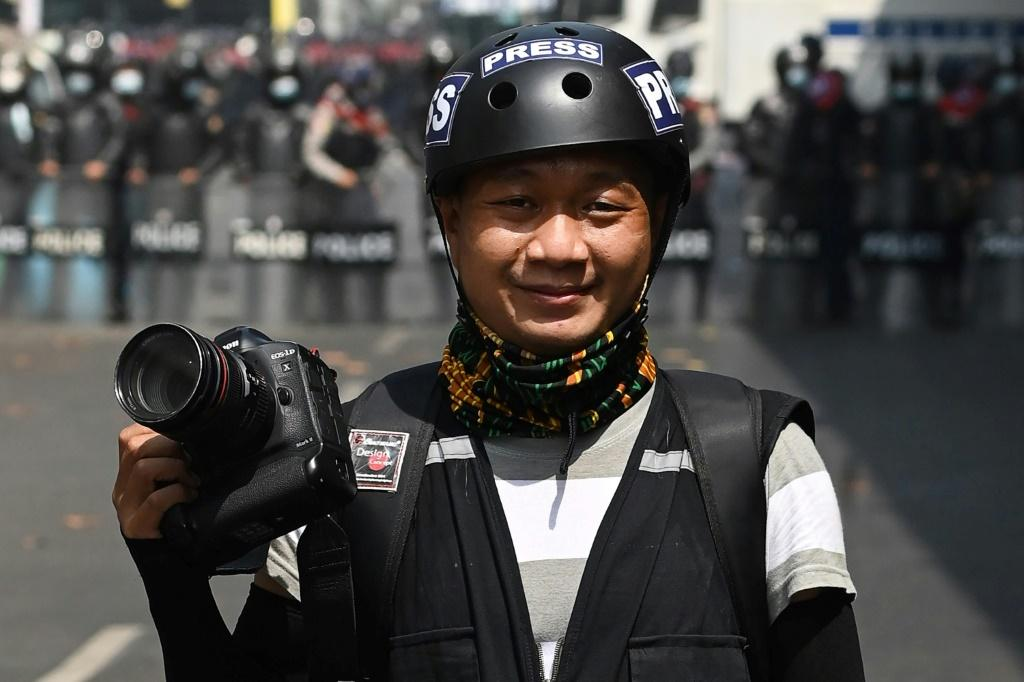AP photographer Thein Zaw was among six journalists hit with charges by Myanmar's junta