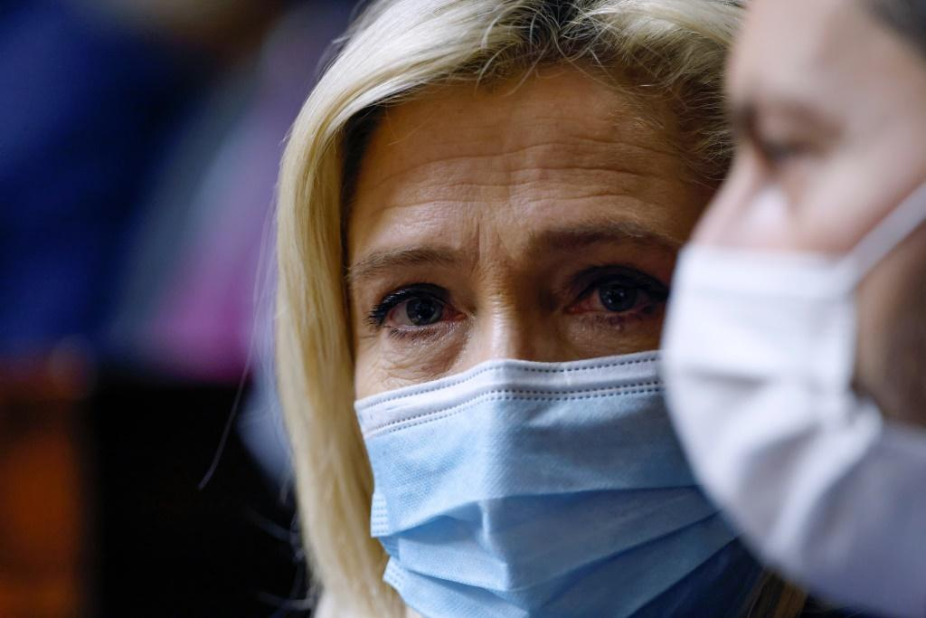 One recent leaked poll suggested that head of the far-right National Rally Marine Le Pen could get 48 percent in a presidential election