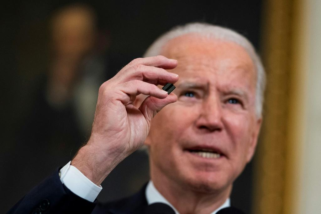 US President Joe Biden last month ordered a review of critical supplies following a shortage of semiconductor chips