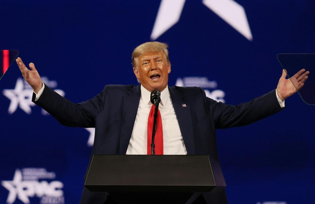 Former US President Donald Trump repeated his claims of election fraud in an address to the Conservative Political Action Conference in Orlando