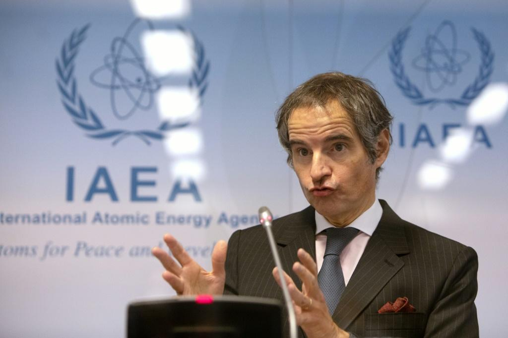 IAEA chief Rafael Grossi said Iran had agreed to some meetings with the UN nuclear watchdog