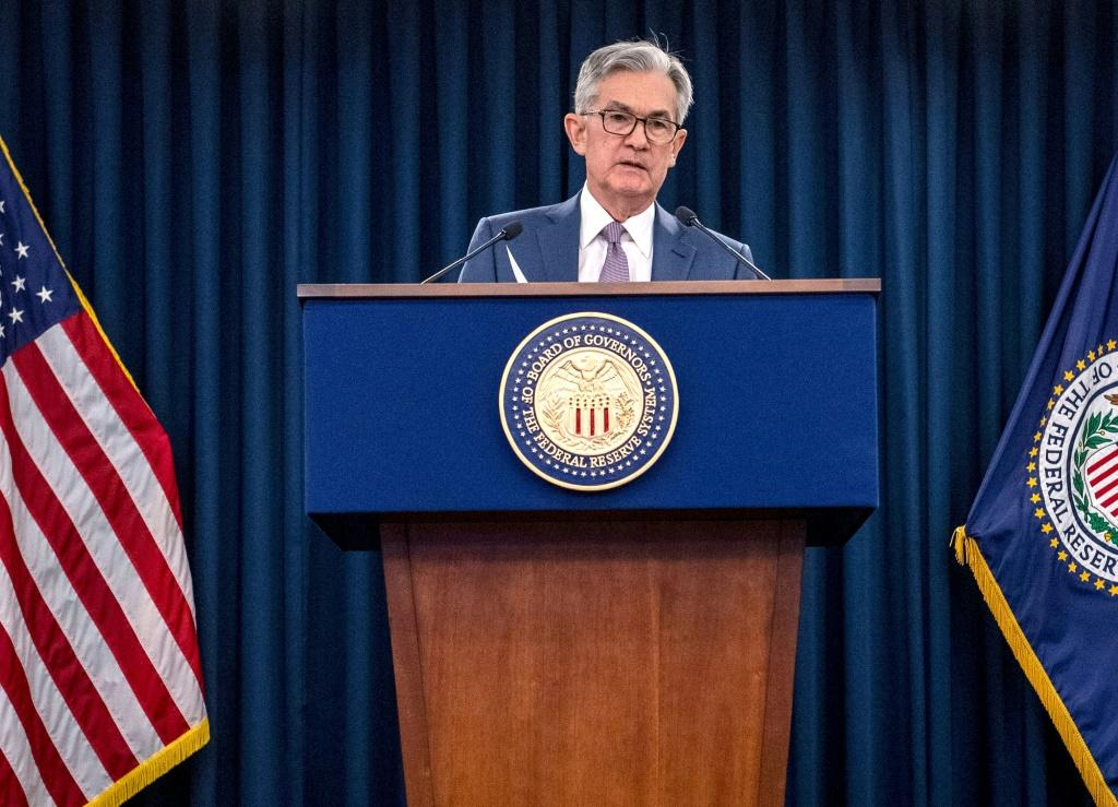 US Federal Reserve Chair Jerome Powell said there is 'a lot of we have to ground to cover' before the economy recovers the 10 million jobs lost in the pandemic