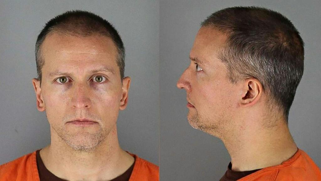A handout photo provided by the Hennepin County Jail of former Minneapolis Police Department officer Derek Chauvin