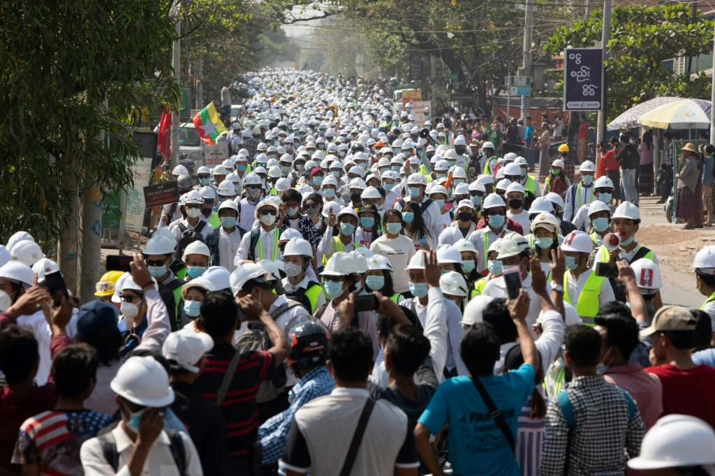 Myanmar has been in uproar since a February 1 putsch ousting civilian leader Aung San Suu Kyi from power, which triggered a massive uprising from hundreds of thousands angered to be returned under military rule