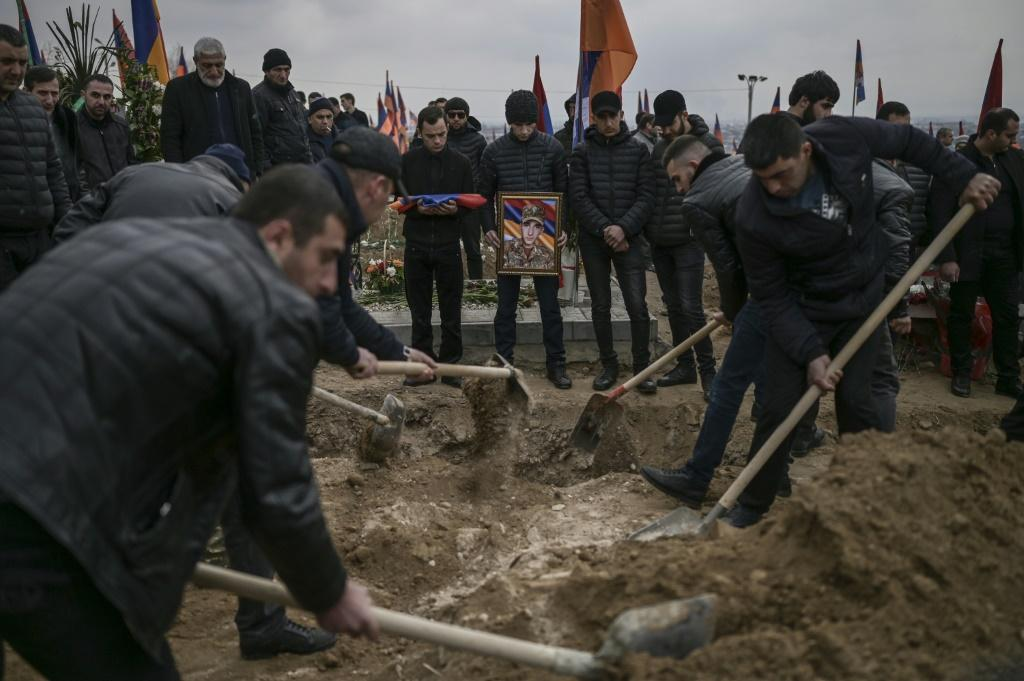 The conflict between Armenia and Azerbaijan that erupted last year over the disputed Nagorno-Karabakh region claimed around 6,000 lives on all sides